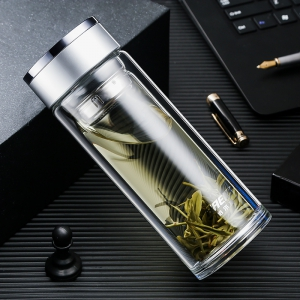 HAERS 哈尔斯 双层玻璃杯 300ml