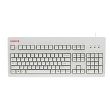 CHERRY 樱桃 G80-3494 104键 有线键盘 104键 白色 无光 静音黑轴