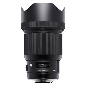 SIGMA 适马 Art 85mm F1.4 DG HSM 标准定焦镜头 佳能EF卡口 86mm 黑色