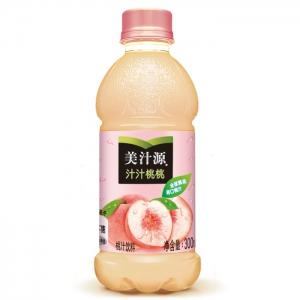 Minute Maid 美汁源 汁汁桃桃 300ml*6瓶