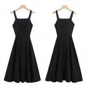 stylecloth 诗可洛  赫本风背带裙  吊带连衣裙 SK-LZBA5425A094元包邮