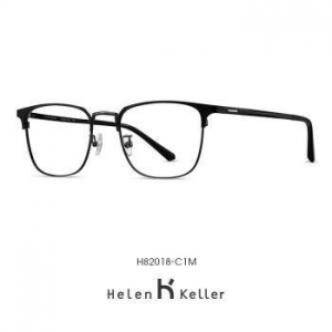 HELEN KELLER  海伦凯勒 H82018T 男士近视眼镜新款 蔡司佳锐系列1.60镜片+镜框