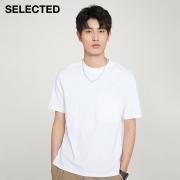 SELECTED 思莱德 420201651 男士T恤57.05元