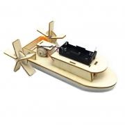 JIMITU 吉米兔 diy自制电动明轮船