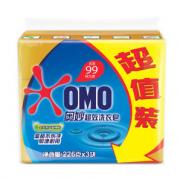 PLUS会员:OMO 奥妙 超效洗衣皂 226g*3块¥4.41 2.2折