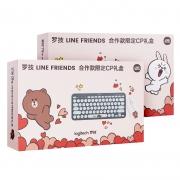 logitech 罗技 K380 蓝牙键盘 + Pebble 鼠标 LINE FRIENDS联名礼盒299元(需用券)