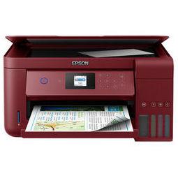 EPSON 爱普生 L4167 墨仓式彩色无线打印一体机 魅力红