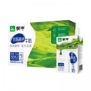 88VIP:MENGNIU 蒙牛 低脂高钙牛奶 250ml*16盒 *2件