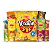 Lay's/乐事 薯片10全食美大礼包 410g*5件