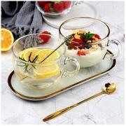 DANYU 丹语 钢化玻璃早餐杯 470ml3.9元包邮(需用券)