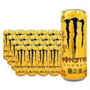 Coca-Cola 可口可乐 Monster 魔爪 龙之金 能量风味饮料 310ml*24罐*2件158.24元包邮(合79.12元/件)