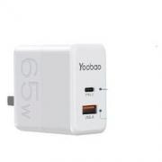 Yoobao 羽博 65W 氮化镓快充充电器89元包邮(需用券)