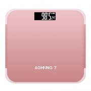 AOHANG 翱航 家用电子秤 电池款 3色可选12.9元包邮(需用券)