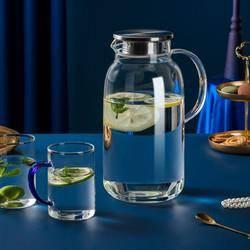 COOKER KING 炊大皇 家用带把玻璃水壶 1.8L+水杯 240ml 2个