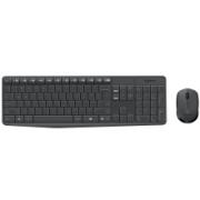 logitech 罗技 Logitech)MK235 无线键鼠套装 无线鼠标无线键盘套装 黑灰色89元(需用券)