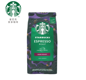 STARBUCKS 星巴克 浓缩烘焙 阿拉比卡进口咖啡豆 200g
