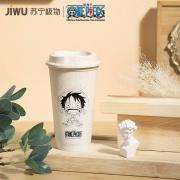 JIWU 苏宁极物 航海王联名款 素描 环保杯 460ml10元包邮