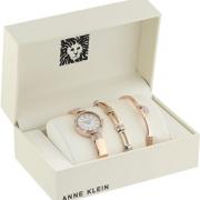 Anne Klein 安妮·克莱恩 AK/3294RGST 施华洛世奇水晶 女士手镯手表套装 到手235.24元¥199.52 比上一次爆料降低 ¥75.76