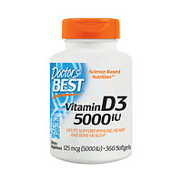 88VIP!Doctor's BEST 维生素D3 360粒