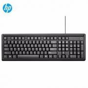 HP惠普 K100有线薄膜键盘 104键 黑色25元(需用券)