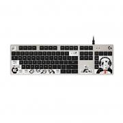 logitech 罗技 G413 机械键盘 Romer-G轴 熊猫版