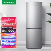 Ronshen 容声 BCD-172D11D 直冷双门冰箱 172升 银色899.1元包邮(需用券)