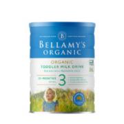 BELLAMY'S 贝拉米 经典有机系列 幼儿奶粉 澳版 3段 900g