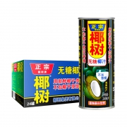 88VIP:椰树 无糖椰子汁 245ml*24罐 *2件166.7元包邮(合83.35元/件)