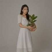 CHUU 女士纯色法式连衣裙  BHB1221J109元包邮