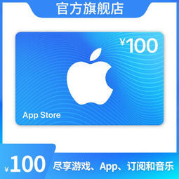 Apple 苹果 App Store 充值卡 100元(电子卡)