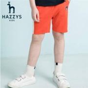 Hazzys 哈吉斯 童装 男童短裤  120-170CM