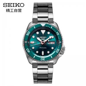 PLUS会员:SEIKO 精工 5号系列 SRPD61K1 男士机械腕表