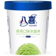 plus会员:八喜 冰淇淋 绿茶口味 550g*1桶*4件109元包邮(需用券  折合27.25元/件)