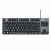 logitech 罗技 K835 84键 有线机械键盘 黑色 TTC轴 红轴