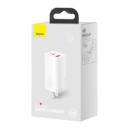 BASEUS 倍思 65W GaN Lite 氮化镓充电器 1C1U + 100W数据线