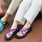 Teva 太哇 Hurricane XLT Infinity 女士罗马织带凉鞋  含税到手约¥292