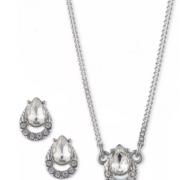 Givenchy 纪梵希 女款水晶耳环+项链套装