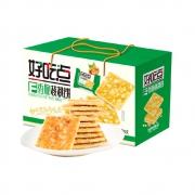 88VIP:好吃点 饼干 香脆核桃饼 800g+ 旺仔小薯饼原味 60g*4盒*2件