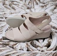 ECCO 爱步 Shape 35 型塑 女士罗马坡跟凉鞋 250153 37码