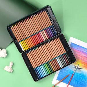 MARCO 马可 3120-72TN 雷诺阿系列 水溶性彩色铅笔 72色铁盒装