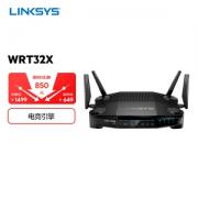 PLUS会员:LINKSYS 领势 WRT32X 3200M 千兆双频 家用路由器 WiFi5599元包邮(需用券)