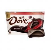88VIP:Dove/德芙 香浓黑巧克力 252g碗装*4件94.37元+20元猫超卡(合18.59元/件)