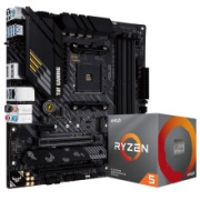 ASUS 华硕 TUF GAMING B450M-PRO S重炮手+AMD R5-3600 CPU套装1299元包邮(双重优惠)