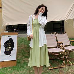 LaChapelle 拉夏贝尔 吊带连衣裙  抹胸式连衣裙