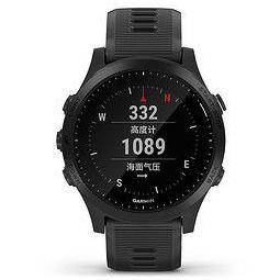 GARMIN 佳明 Forerunner 945 智能手表 47mm 黑色 黑色硅胶表带(GPS、血氧)