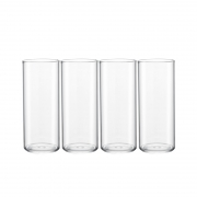 88VIP:淘宝心选 玻璃水杯 330ml*4只装8.81元包邮+59淘金币