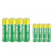 EBL 碳性电池 5号 / 7号 8粒2.9元包邮(需用券)