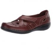 Clarks 其乐 Ashland Rosa 女士真皮一脚蹬乐福鞋  含税到手约¥315