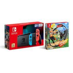 88VIP:Nintendo 任天堂 国行 Switch游戏主机&《健身环大冒险》套装
