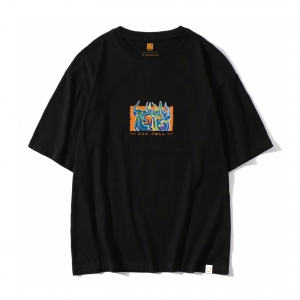 IQW 潮牌 罗汉维联名 圆领T恤